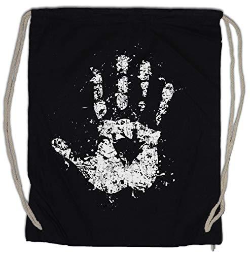Urban Backwoods White Hand II Bolsa de Cuerdas con Cordón Gimnasio