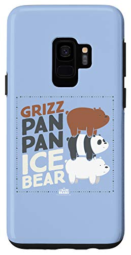 Galaxy S9 We Bare Bears Grizz Pan Pan Ice Bear Case