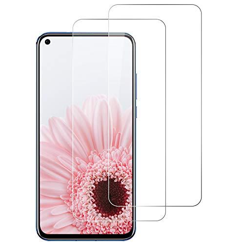DOSNTO Panzerglasfolie für Huawei Honor View 20 [2 Stück], 9H Festigkeit Panzerglas Bildschirmschutzfolie, Bläschenfrei, Anti-Kratzen, Anti-Öl HD Schutzfolie für Huawei Honor View 20