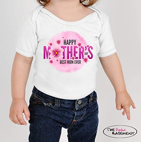 Happy Mothers Day Mom Best ever Baby Clothes Clothing child boho Unisex Boys Girls Newborn Infant Shower Gift bohemian Jumper Jumpsuit Bodysuit One piece Pajamas