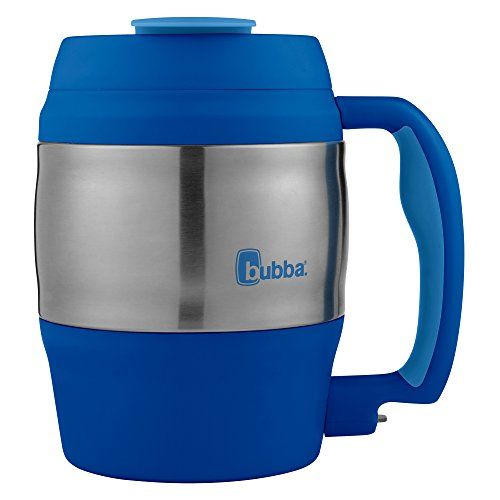 Bubba Classic Durable Desk Mug Cobalt w/ Serenity Accents, 52oz w/ Bottle Opener