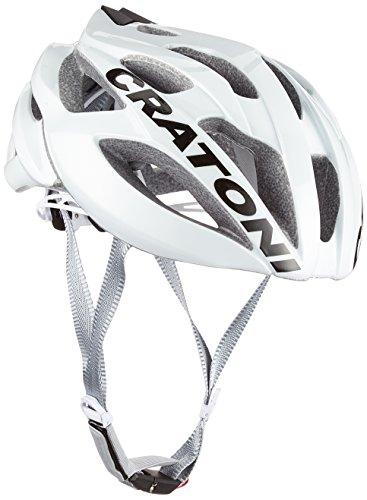 Cratoni C-Bolt Fahrradhelm, White-Black Glossy, S-M