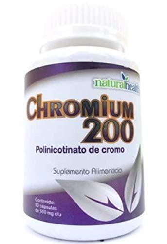 Picolinato De Cromo marca NaturalHealth