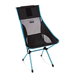 Lightweight, portable, collapsible chair with a taller profile and greater ground clearance for easy in-and-out Chair frame is constructed from advanced proprietary aluminum alloy to provide maximum strength at a minimum weight; holds up to 320 pound...