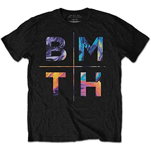 Rockoff Trade Herren Bring Me The Horizon Colours T-Shirt, Schwarz, M