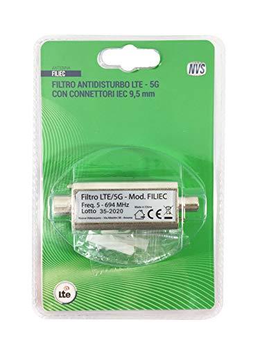 NVS Filtro antidisturbo LTE 5G con connettori IEC 9,5 mm