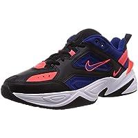 Nike M2K Tekno, Zapatillas de Atletismo para Hombre, Multicolor (Black/Deep Royal Blue/Bright Crimson 6), 45.5 EU