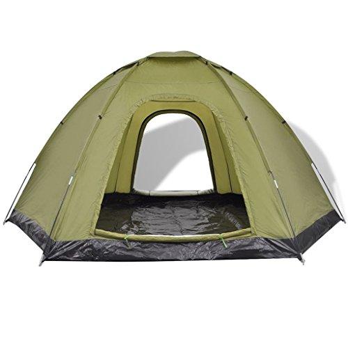AYNEFY- Tienda de viaje impermeable para 6 personas, tienda de campaña de 6 plazas canadiense, iglú, camping, playa, viaje, con mosquitera