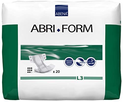 Abena abri- Form Komfort–L3100–150cm Hüfte/Taille Größe, All-in-One, 3400ml