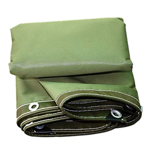 ZHANGGUOHUA-zheyangwang Special Wood Tarp Resistant/Waterproof 6 X 6 M (Color : Green, Size : 1214m)
