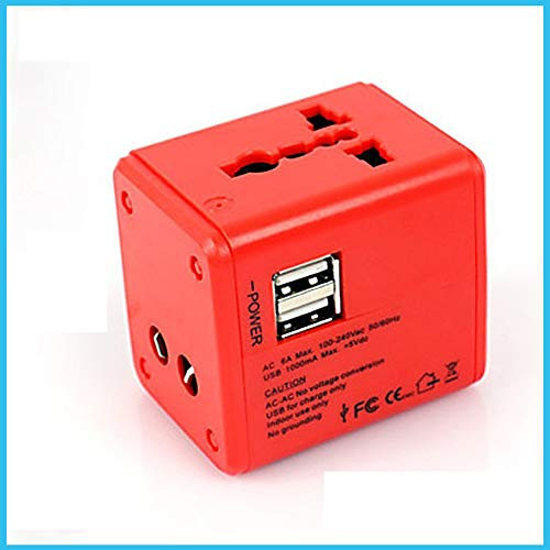 Adaptador De Enchufe - con Adaptador Versátil USB Universal para El Reino...