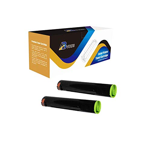 AB Volts Compatible Toner Cartridge Replacement for Panasonic DQ-TU15E for Workio DP 2310 2330 3010 3030 (Black,2-Pack)