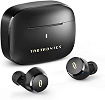 Wireless Earbuds, TaoTronics CVC 8.0 Noise Cancellation Bluetooth Headphones True Wireless Earphones with Qualcomm Chip,...