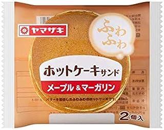 ヤマザキ ホットケーキサンド メープル&マーガリン ×10個セット 山崎パン横浜工場製造品