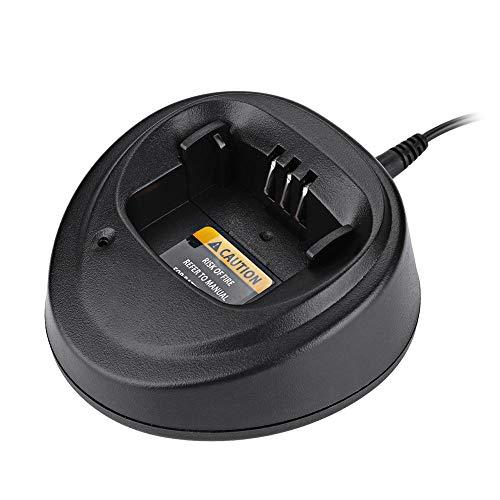 Bewinner 12 V Adaptador de Corriente para Walkie Talkie Cargador para Motorola EP450 / GP3188 / GP3688 / CP040 US/EU Plug Alta Eficiencia Duradero de Usar(EU pulg)