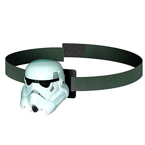 Philips - Lampe frontale en plastique blanc et noir à l'effigie de Stormtrooper Star Wars/Disney (7192731z0)