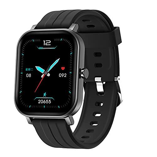 N \ A Smartwatch per telefoni Android e iOS, smartwatch per Uomo Donna, Touch Screen Completo da 1,69 Pollici, contapassi Impermeabile IP67, Orologio con Monitor del Sonno