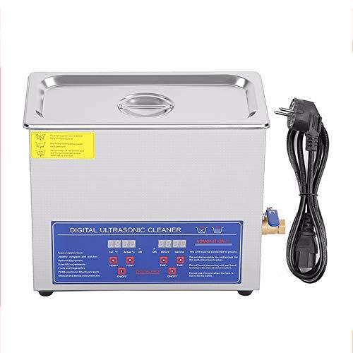 1.3L 2L 3L 6L 10L 15L 22L 30L Ultrasonic Cleaner, Con Timer Digitale E Riscaldato Di Temperatura Display, Per I Monili Di Vetri Da Orologio,15L