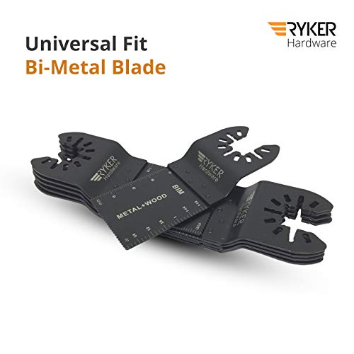 Great Features Of Quick Release Oscillating Saw Blades - 10 Piece Tool Set | Universal Fit Bi-Metal ...