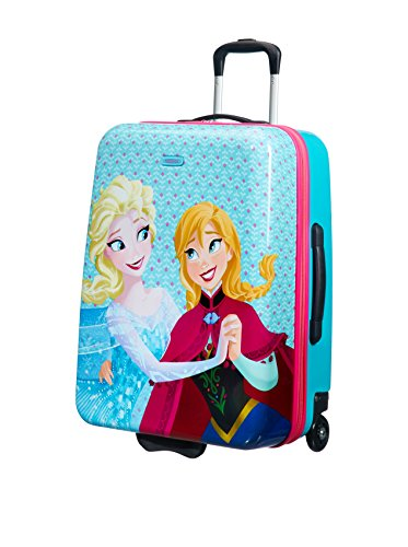 Disney By American Tourister New Wonder Valigia per Bambini 60/22 Frozen, Policarbonato, 55 ml, 60 cm