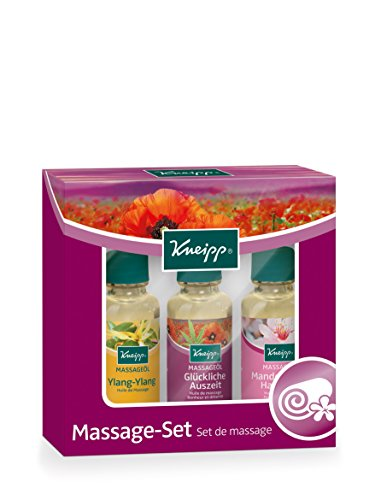 Kneipp Massageöl Set, 3X20 ml