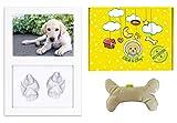 Click & Clay® - Cornice Impronte Cane e Gioco Cane, Regalo Cane Ideale per Compleanno Cane e Primo Natale Cane