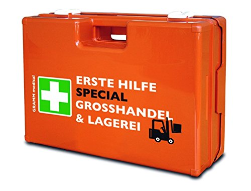 Speciaal verbandkoffer voor groothandel & magazijn met inhoud DIN 13157