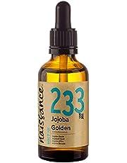 Naissance Cold Pressed Golden Jojoba Oil 50ml - Puur & Natuurlijk, Ongeraffineerd, Veganistisch, Hexane Free, Geen GGO - Ideaal voor Aromatherapie en als Massage Base Oil