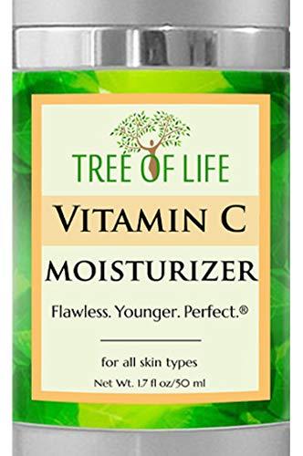 Vitamin C Moisturizer Creme für das Gesicht und Haut (1,7 Ounce)