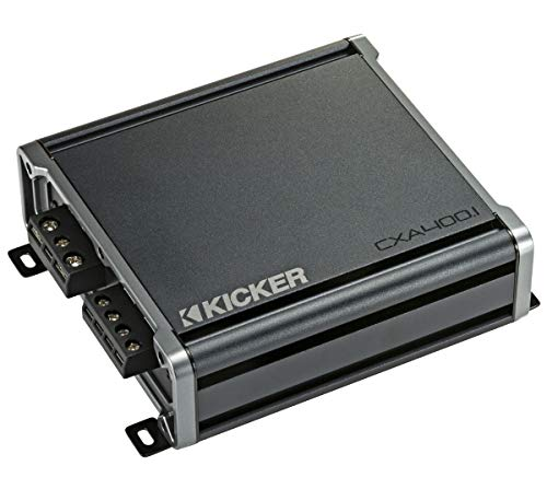 Kicker 46CXA4001 Car Audio Class D Amp Mono 800W Peak Sub Amplifier CXA400.1 (Renewed)
