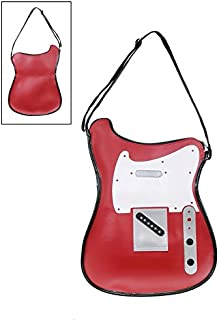 Funcional Bolsa de hombro en forma de guitarra, Red (TS)