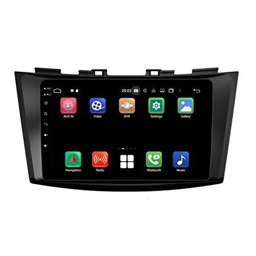 8 Pulgadas Pantalla Táctil Android 10.0 Autoradio DVD Reproductor para Suzuki Swift(2011-2017), 4 GB RAM 32 GB ROM, Navegación GPS Bluetooth Dab+ Radio