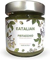 EATALIAN Crème de pistache à tartiner 200 gr, crème de pistache naturelle et sicilienne, pâte de protéines Made in Italy...