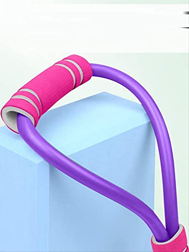 WWJ 8-Word Extractor de Pecho expansor de Yoga Cuerda elástica hogar Mujer Hombro Cuello cinturón elástico Equipo de Gimnasia tirón de Goma Masculino