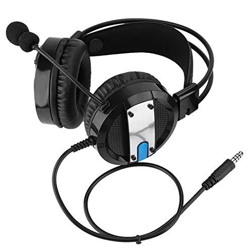 DAUERHAFT Walkie Talkie Earpiece Boom Mic, Overhead Walkie Headset, Headset Walkie Micrófono, Auriculares con cancelación Activa de Ruido, para Baofeng 888S 5RE 5R UV-82