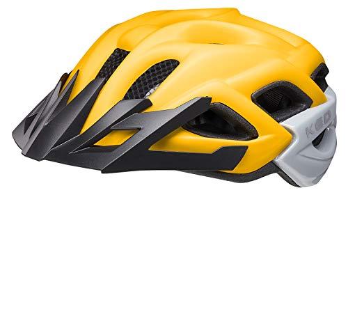 KED Status Helm Kinder Yellow Black matt Kopfumfang M | 52-59cm 2021 Fahrradhelm