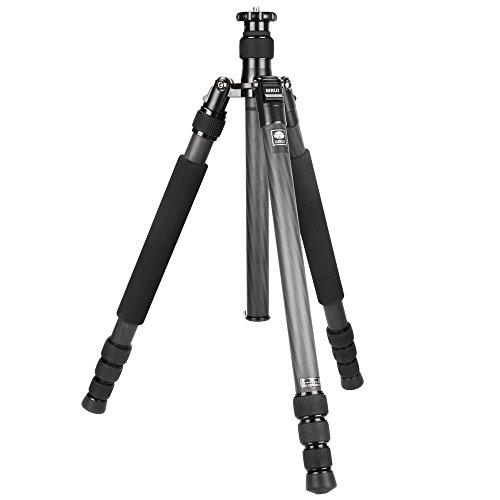 SIRUI N-2204X Universal Carbon Drei-/Einbeinstativ (Höhe: 160,5cm, Gewicht: 1,48kg, Belastbarkeit: 15kg) mit Tasche & Gurt