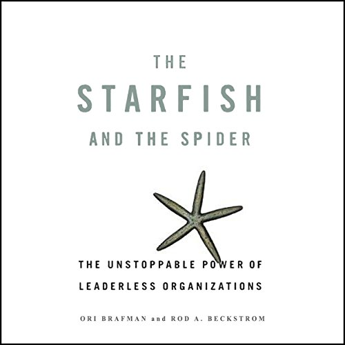 The Starfish and the Spider audiobook cover art