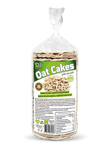 Anderson DAILY LIFE OAT CAKES 100g Gallette d' Avena Biologiche