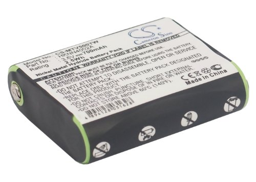 CS-MTV500TW Akku 700mAh Kompatibel mit [Motorola] EM1000, EM1000R, EM1020R, FV300, FV500, FV600, FV700, FV800, KEM-ML36100, MC220, MC220R, MC225, MC225R, MD200, MD200R, MD200TPR, MD320CR, MJ270, MJ27