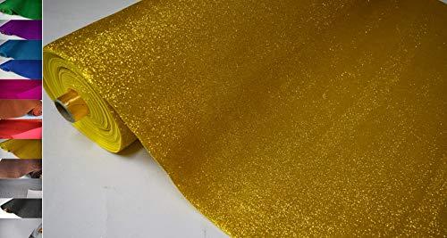 Stoffbook Hoja de espuma brillante de poliuretano EVA, con un espesor de 2 mm OEKO-TEX, Tejido de briolage dorado, D232