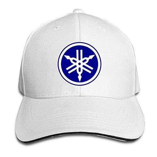 PWEIZS Sombrero clásico de béisbol con Logotipo de Yamaha para Mujer,Gorra de Camionero para Mujer,Sombrero de papá