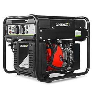 GREENCUT GRI300XM – Generador eléctrico inverter de gasolina motor 4 tiempos 212cc con salida 3kw
