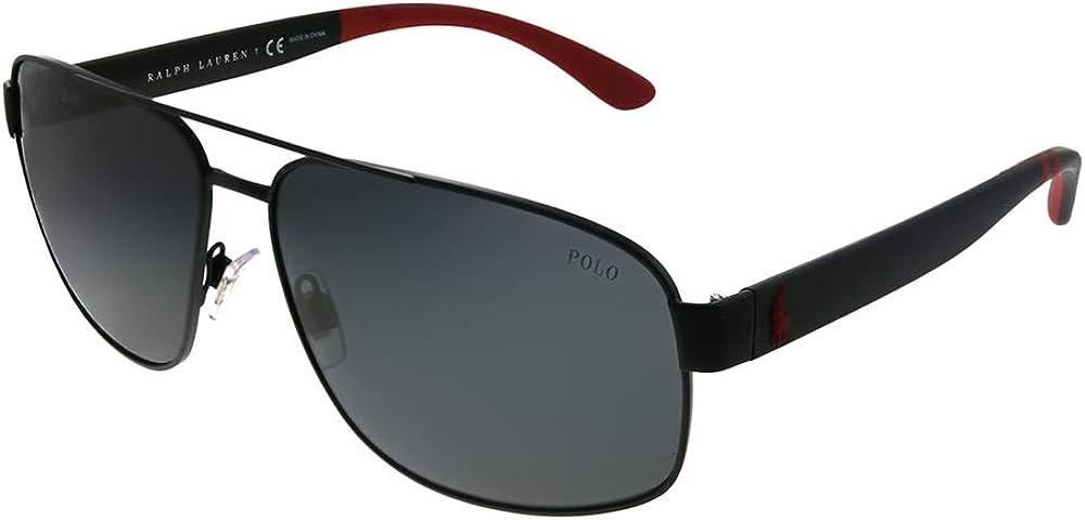 Polo Ralph Lauren Men's Ph3112 Metal Aviator Sunglasses
