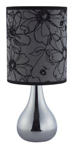 Brilliant - LH00000104 - Lampe à Poser - Irmi Design - 40 W - E14 - Argenté