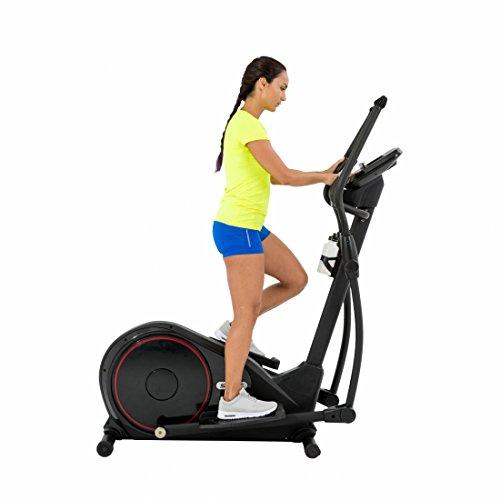 Spirit Cross Trainer DRE 60 – Ellipsentrainer mit Hand-Puls-Sensoren, Ergometer, Cardio Fitness - 3