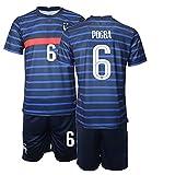 NACP New Niños France POGBA No.6 Camiseta de Futbol Visitante Ropa Deportiva de Secado Rapido (20)
