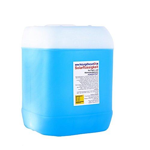 Preisvergleich Produktbild 20 Liter Solarflüssigkeit Konzentrat bis -58°C Frostschutz,  Solarfluid,  Solarliquid,  Wärmeträgermedium