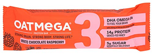 Boundless Nutrition Bar White Chocolate Raspberry Crisp Oatmega,...