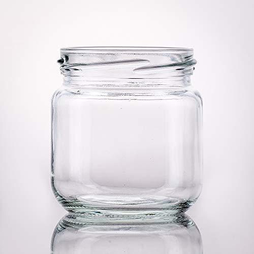 12 leere, kleine Einmachgläser 212 ml weiß TO 66 mit Deckel gold zum selbst befüllen von Marmelade, Konfitüre, Gelee, Gewürz und Honig. Mini - und Probier - Gläser zum Abfüllen und einmachen.